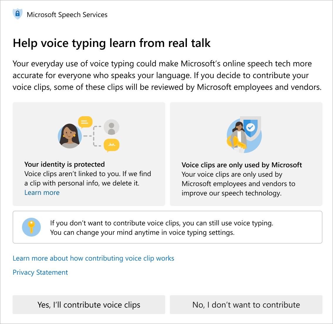 微软更新用户语音片段使用政策,将删除隐私信息帮助开发语音识别