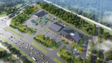 菏泽城区将建一交通枢纽站!位置在…