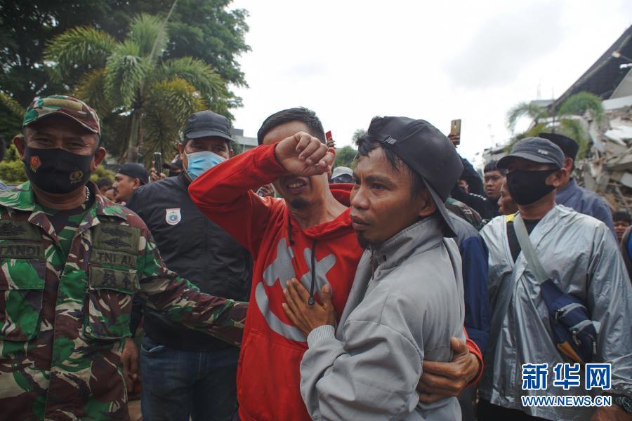 印尼地震死亡人数升至42人【图】