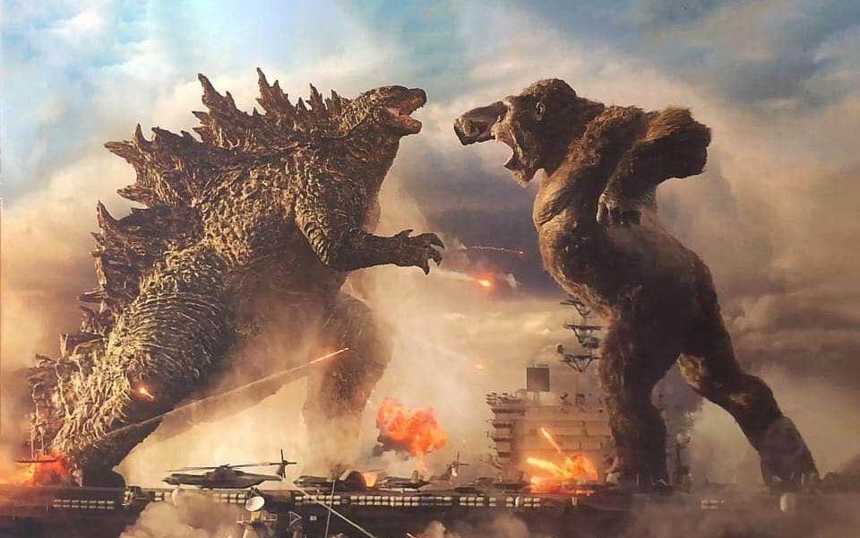 《哥斯拉大战金刚》提档3月26日北美上映,流媒体同步上线