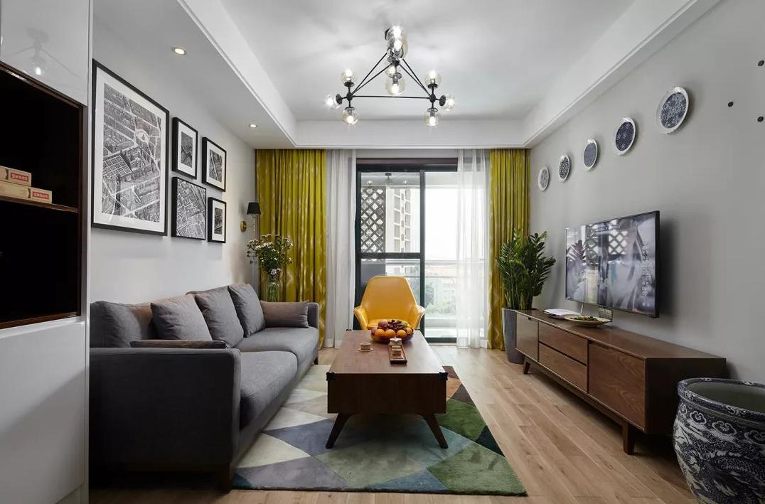 68平米新房,二居室装修才花7万元,邻居看了羡慕不已!