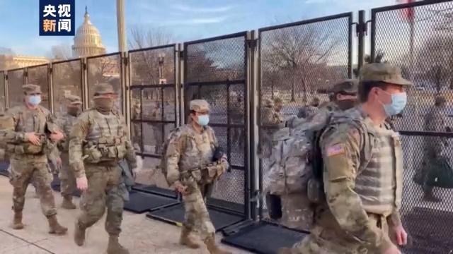 2.5万名国民警卫队没检测就派往华盛顿,就位人员中已发现43人阳性