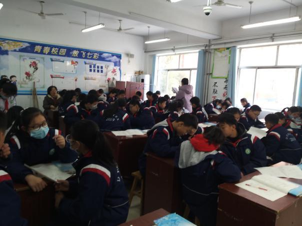 泰安市岱岳实验中学数学教学组开展全员复习公开课活动