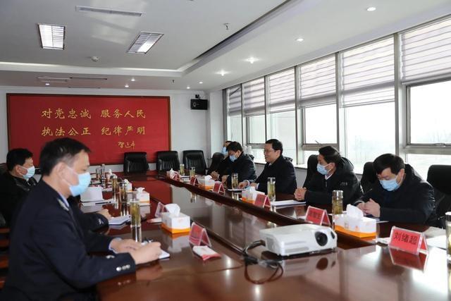 【疫情防控】枣庄市副市长刘吉忠到枣庄监狱督导检查疫情防控工作