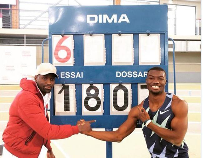 田径 | 赞戈打破男子三级跳室内世界纪录 成布基纳法索第一人