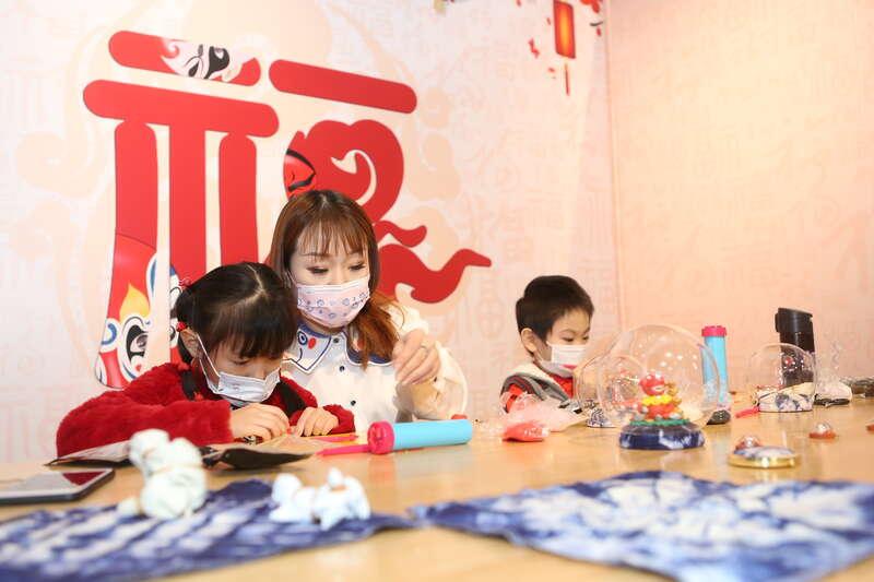 """天津市第十二届娃娃庙会""""云端""""众享传统文化"""