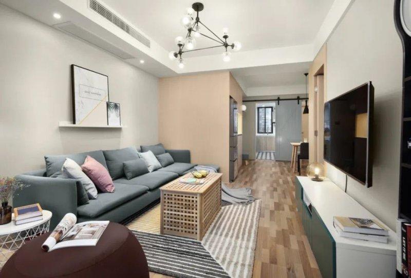 85平米二居室设计说明,11万元装修的北欧风格有什么效果?