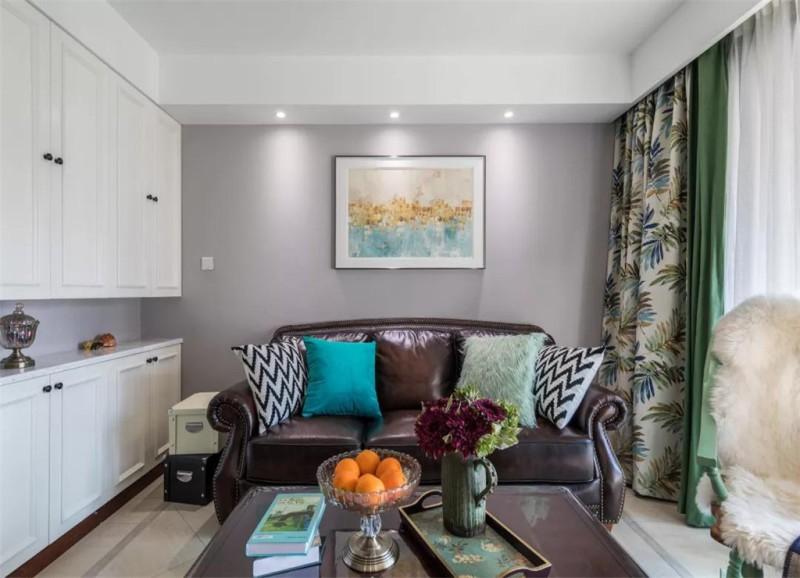89平米的二居室要怎么装修才出其不意,选择美式风格准没错!