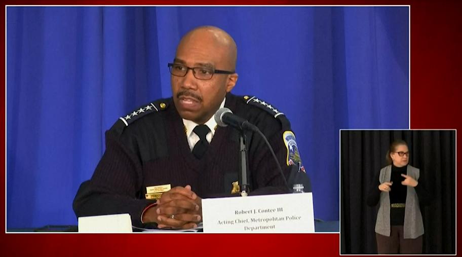 美国会800米外抓获一名男子:伪造证件,带500多发子弹