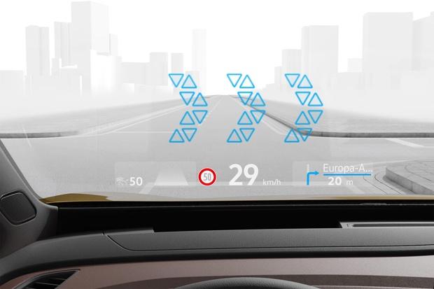 大众汽车将推出增强现实抬头显示系统