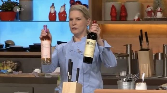 张裕葡萄酒现身德国电视二台《厨房大战》节目