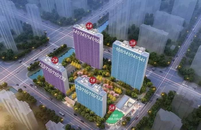 基础装修均价预计4.43万/㎡,河西南纯新盘马上首开