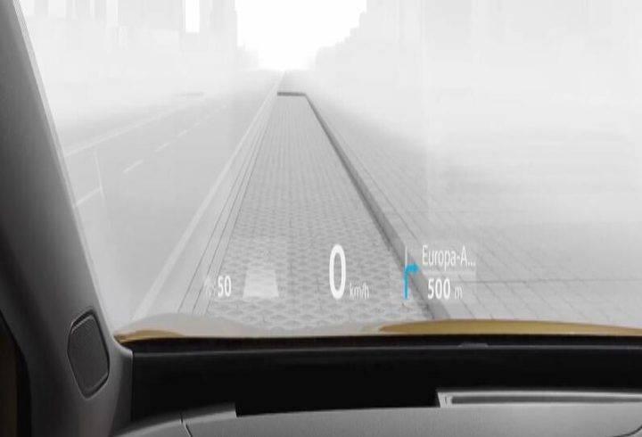 大众汽车推出增强现实抬头显示系统