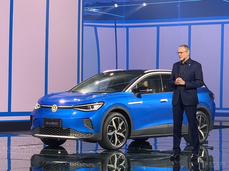 一汽-大众首款纯电SUV ID.4 CROZZ今日公布售价 不超25万