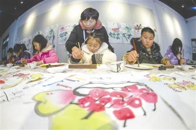 毕节: 传统文化 丰富寒假生活