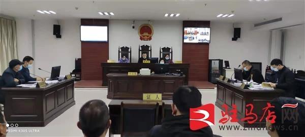 行政首长出庭应诉 汝南县法院以行政审判促依法行政