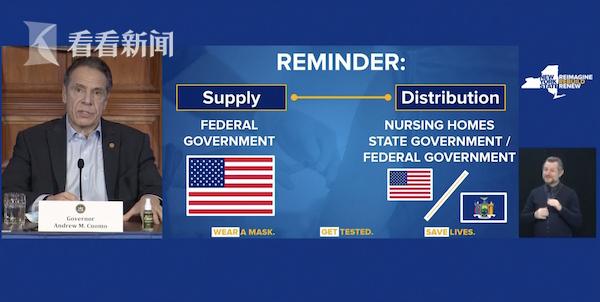 视频|美国政府效率低 纽约州长想直接找辉瑞买疫苗