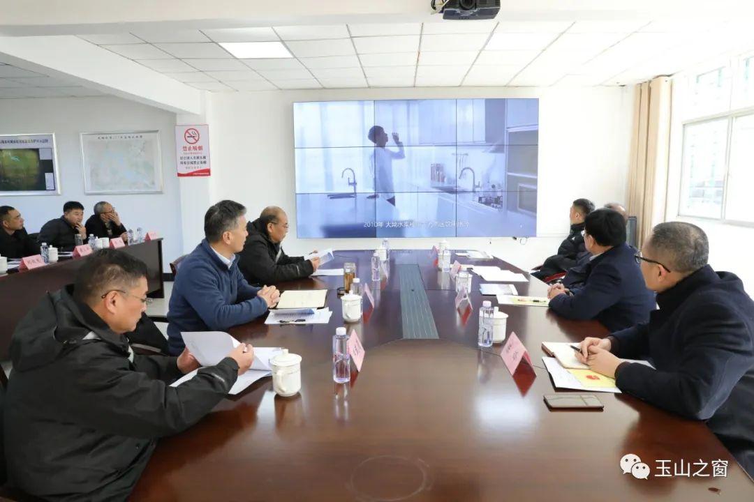 玉山县人大常委会到上饶市大坳水库考察学习饮用水水源保护工作