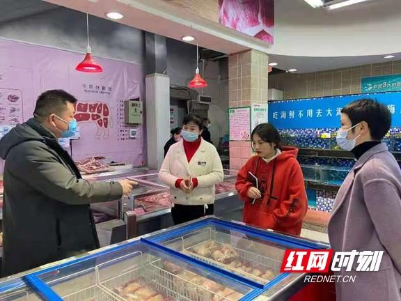 张家界市卫健委督查春节食品安全风险防控工作