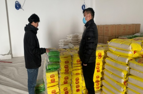 县粮食和物资储备中心加大安全排查 提高防控能力