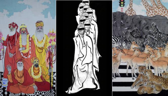Soul App里90后水墨画画家,在线发扬传统文化