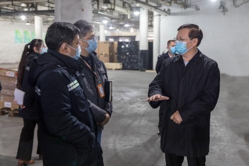 山东省市场监督管理局 省局要闻 侯成君同志对安全监管隐患大排查大整治工作进行暗访