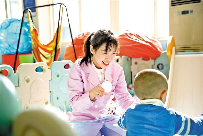 给特殊的宝贝更专业优质的康复治疗
