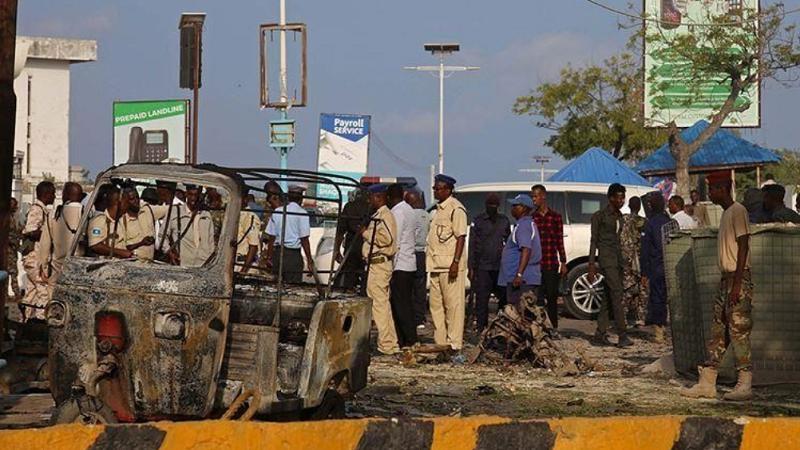 索马里再发生针对高级别官员袭击 至少6人被炸死