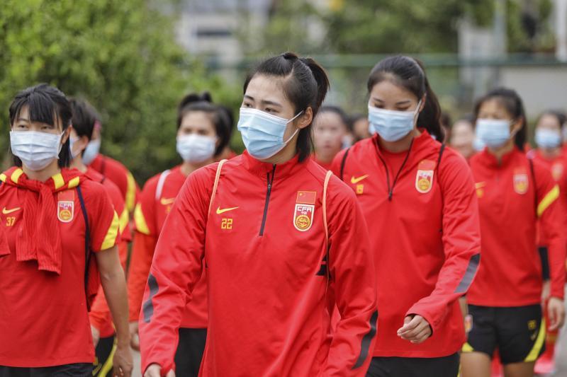 """亚足联透露中韩女足奥预赛日程 比赛能否如约仍要看疫情""""脸色"""""""