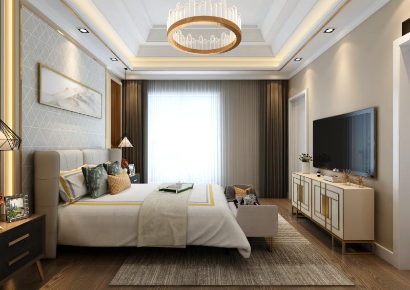 混搭风格六居室以上装修案例,340平米的房子装修多少钱?
