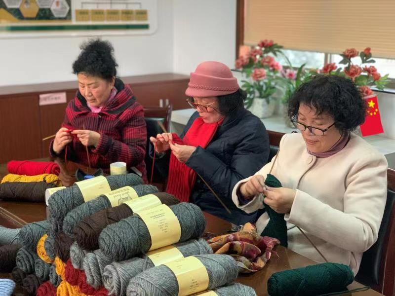小小善行暖人心 杭州这个社区开展冬日志愿活动