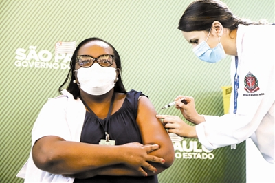 巴西接种中国疫苗