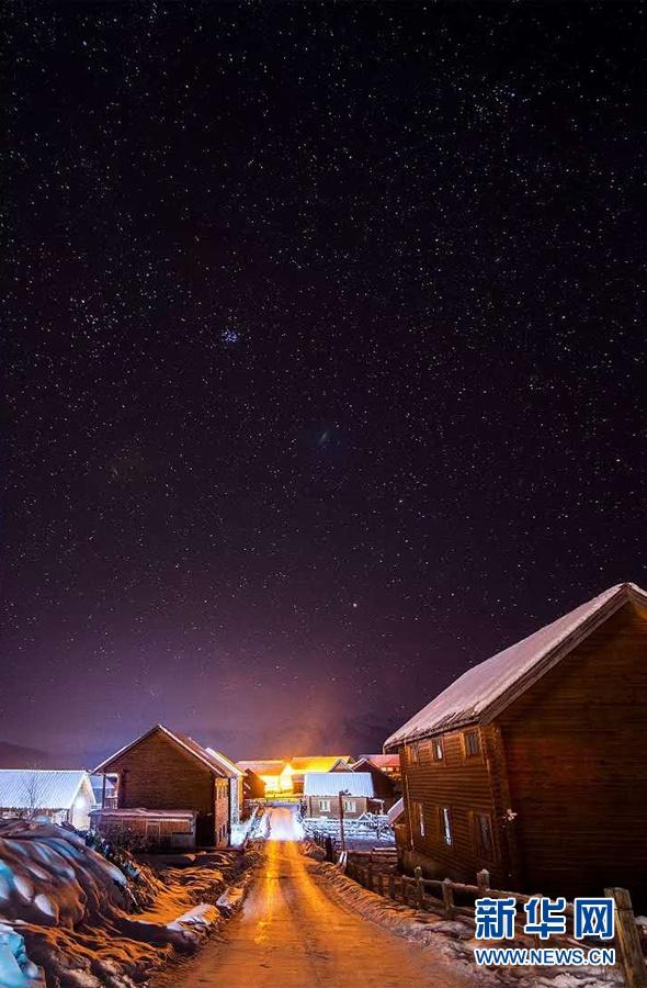 【新疆是个好地方】抬手摘星!在禾木看璀璨星空