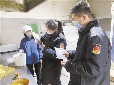 保定市市场监管局突查市区餐饮食品安全和防疫工作