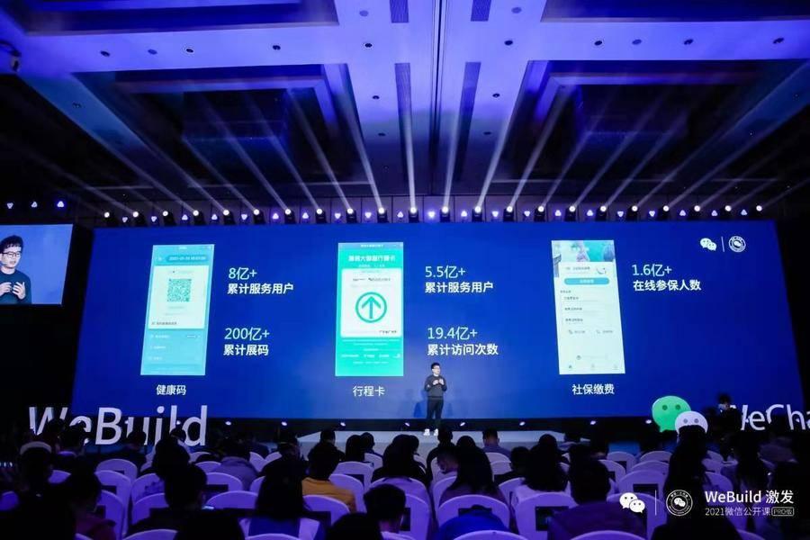 2021微信公开课PRO:微信支付分用户数破2.4亿