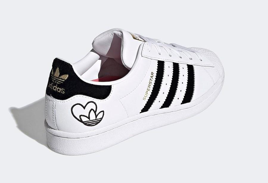 adidas 推出情人节主题 Superstar !