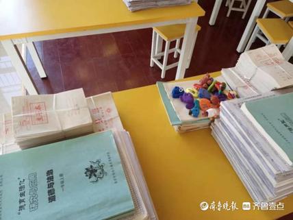 岱岳区山口镇中心小学开展教师常规业务检查
