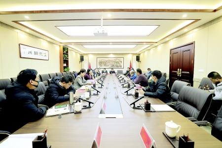 张潞萍会见晋城市司徒小镇董事长周小明盛方集团创始人许豫宏教授一行