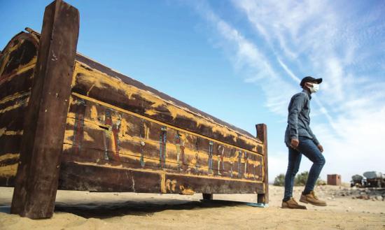 埃及考古发现法老的神秘王后!还新发现50多具棺材,距今3000年历史,颜色鲜艳保存完好