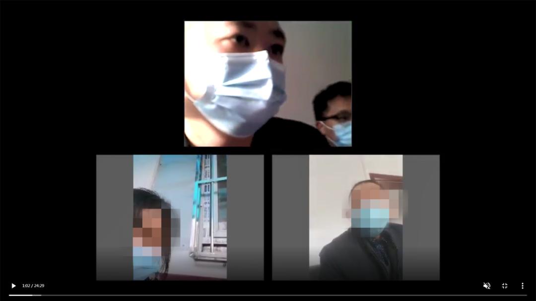 李家河人民法庭线上调解止纠纷
