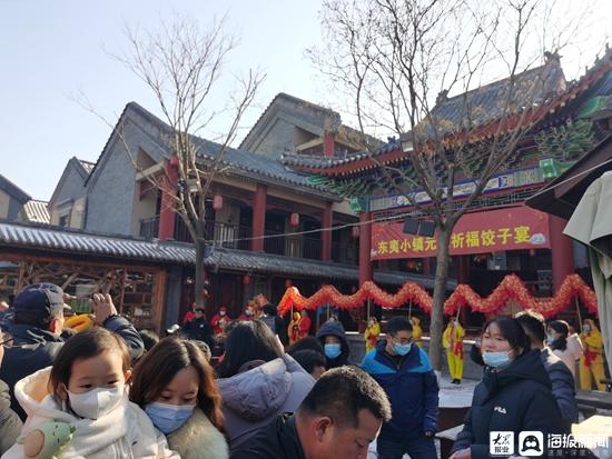 """图集丨迎日祈福庆元旦,东夷小镇""""节味""""浓"""