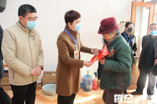 """淄博市红十字会2021年""""博爱在淄博 温暖送万家"""" 活动正式启动"""