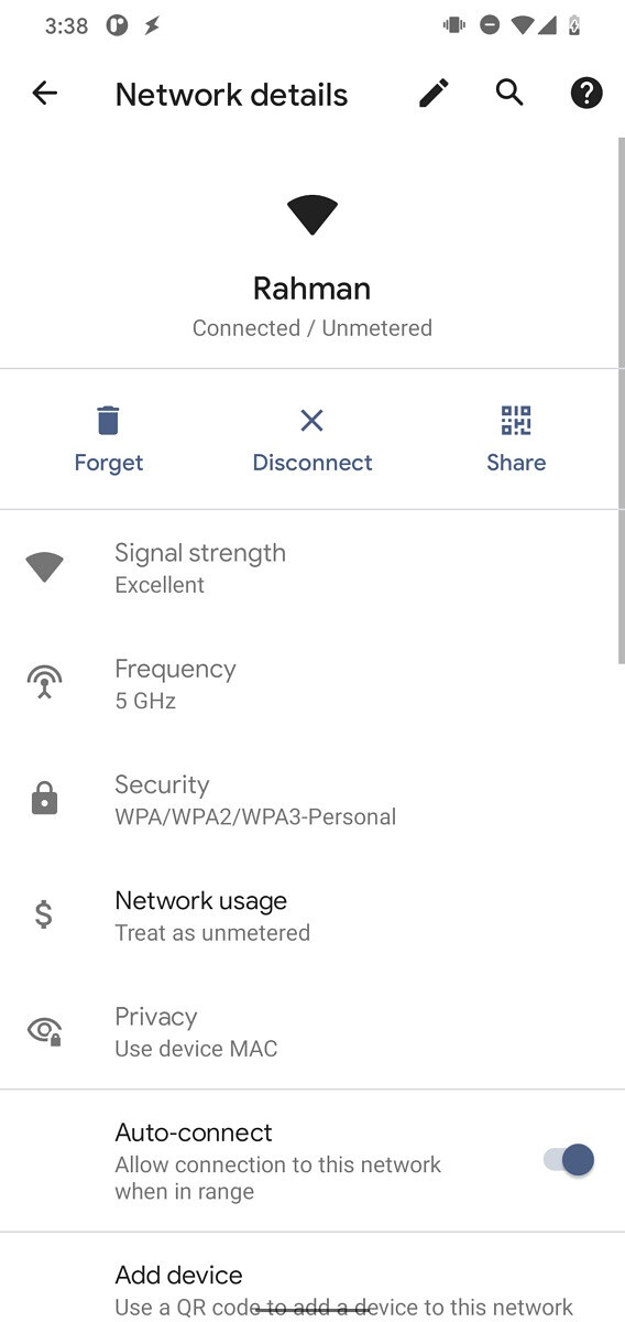 "Android 12有望允许用户通过""附近分享""功能分享WiFi密码"