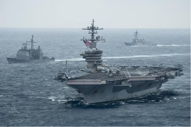敏感时刻,中国海上军演直接延长5天,美罗斯福号航母已出巡南海