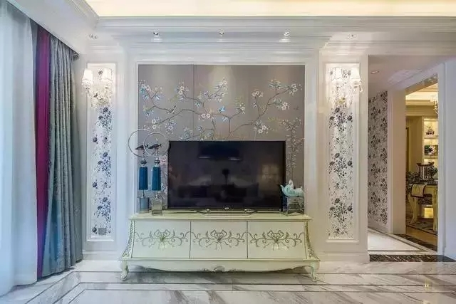 12万装修出130平米三居室欧式风格,看过的人都点赞!