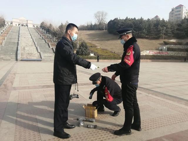 阳泉市公安局开发区分局成功制止违法燃放烟花爆竹案件的发生