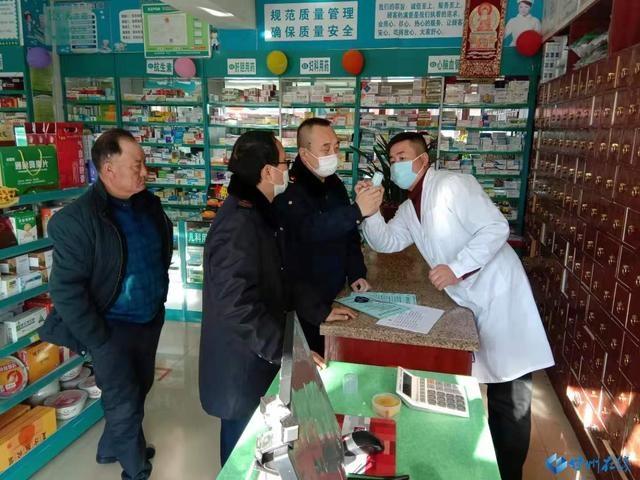 甘州区市场监管局沙井片区服务疫情防控守牢市场监管阵地