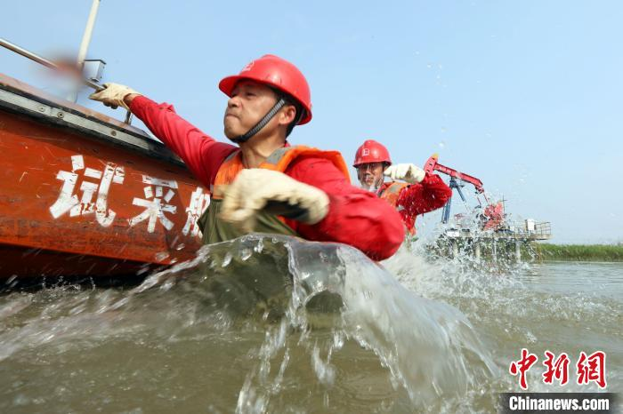 2020年中石化江苏油田原油超产2.9万吨 系5年来首次增长