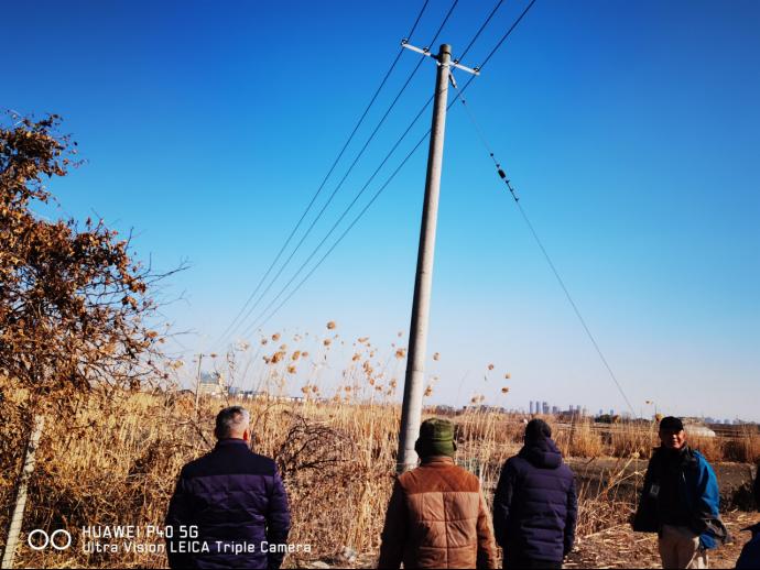 金坛供电:杆线迁移助养殖户早日投产