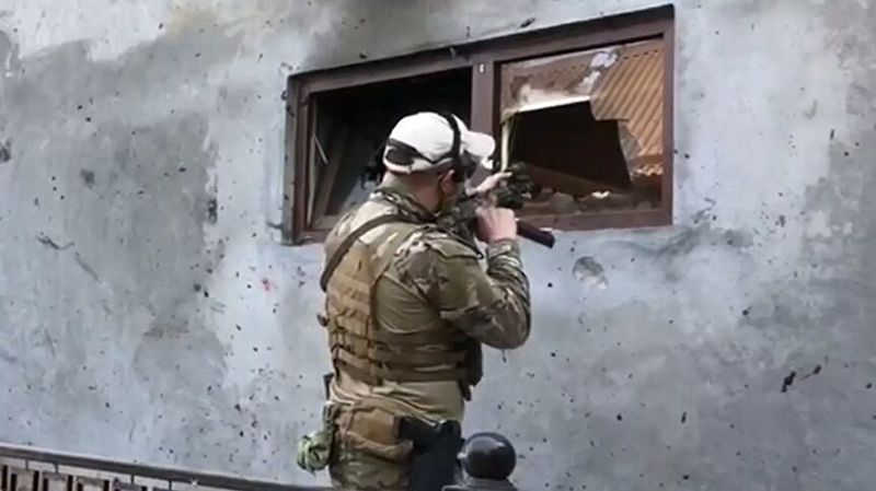 俄车臣共和国消灭5名恐怖分子 包括一恐怖分子头目